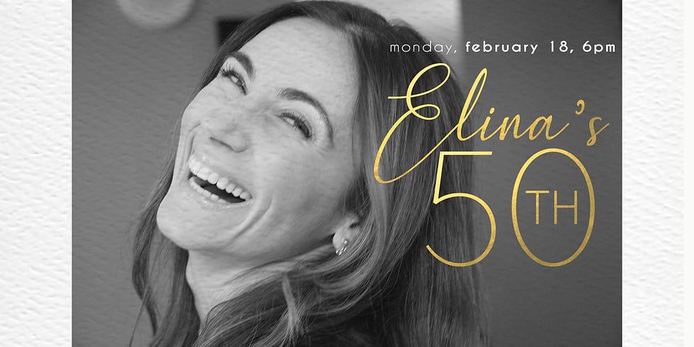 Elina's 50th