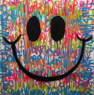 Spray Paint Smile (Don't Worry)