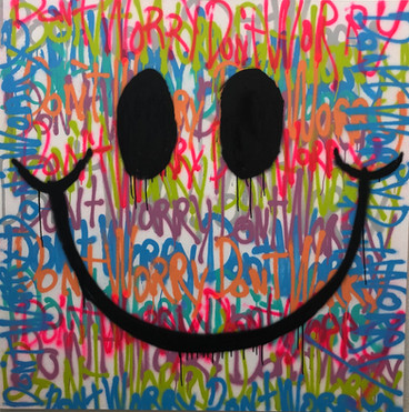 Spray Paint Smile