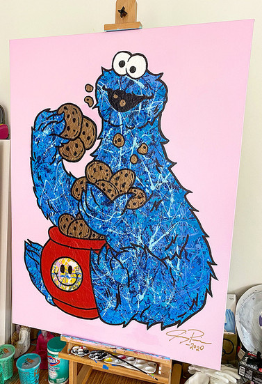 Quaratine Cookie Monster