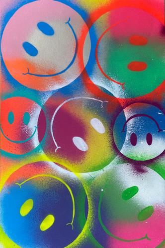 Rainbow Smileys