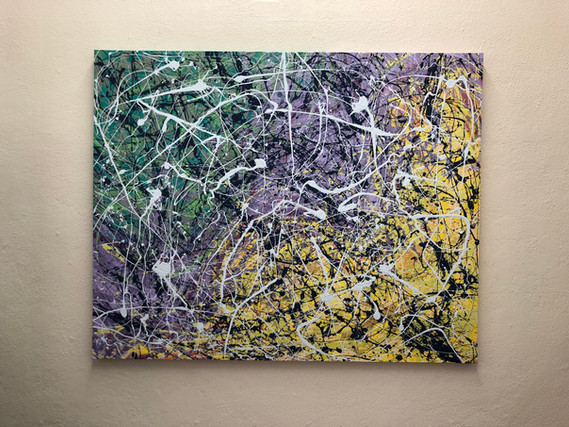 """60"""" x 48"""" Abstract"""