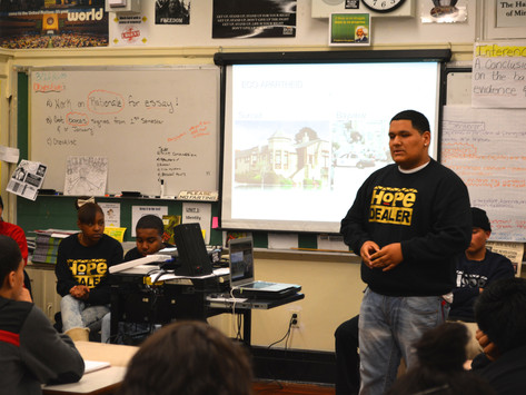 Hope Dealers Motivate High School Youth