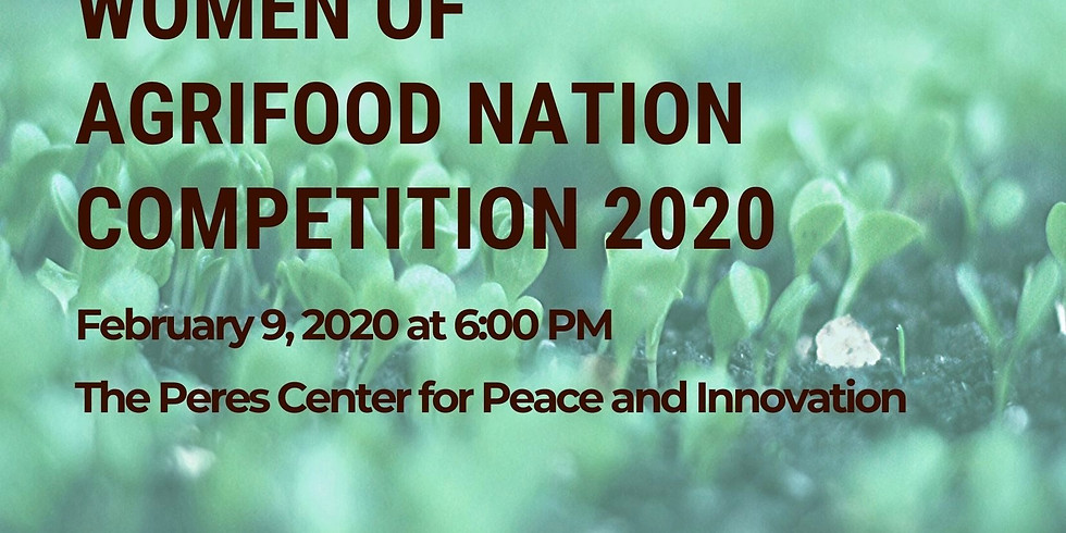 WOMEN OF THE AGRIFOOD NATION COMPETITION