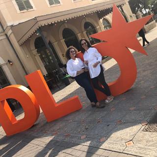 Merav Oren and Carmit Oron at DLD 2019