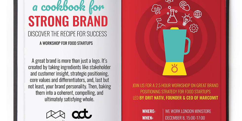 A Cookbook for Strong Brand