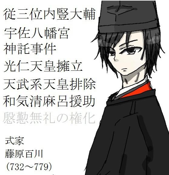 参戦 藤原百川