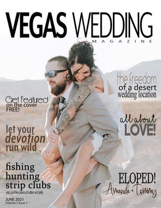 Off the Vegas Strip Club Wedding - Amanda + Tommy