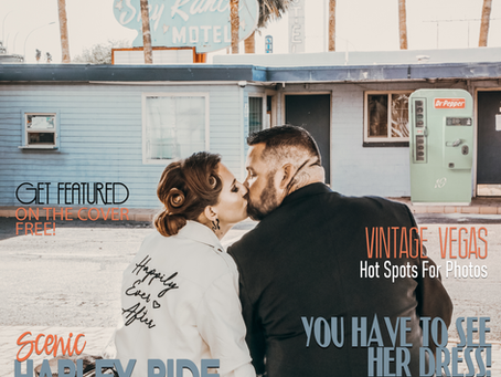 A Harley Ride to Matrimony - Billy and Tabitha