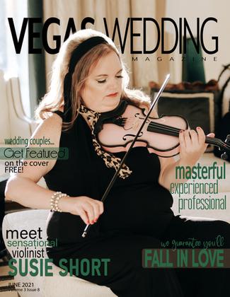 Vegas Wedding Magazine Susie Shortt