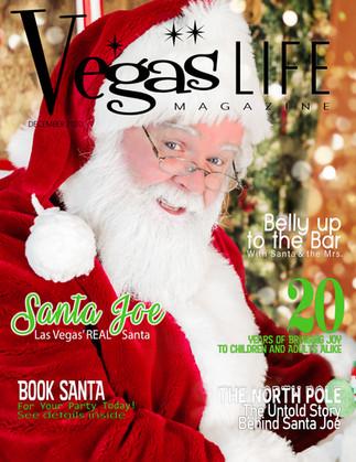 Best Real Santa Claus Santa Joe Las Vegas