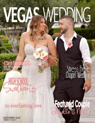Vegas Wedding Magazine Rockelle and Matt