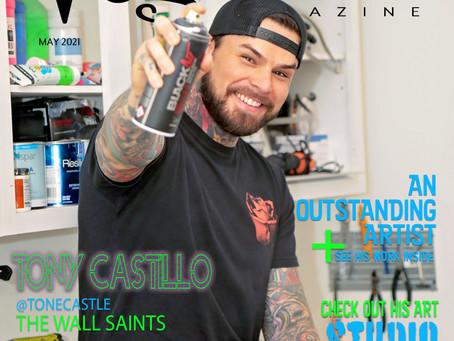 Artist Tony Castillo aka ToneCastle - The Wall Saints