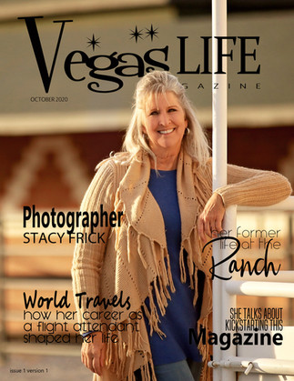 Vegas Life magazine first issue OCTOBER 2020