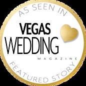 As Seen In Vegas Wedding Magazine Featur