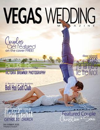 Vegas Wedding Magazine - Christina + Sean