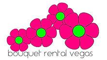 bouquet rental vegas logo 3 flowers scat