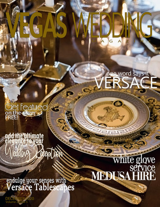 Vegas Wedding Magazine - Medusa Hire