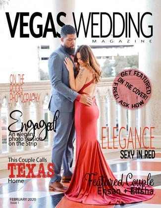Vegas Wedding Magazine Ehsan and Elisha
