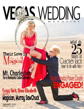 Vegas Wedding Magazine - Murray SawChuck and Dani Elizabeth