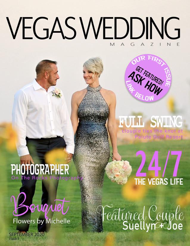 Vegas Wedding Magazine Joe and Suellyn