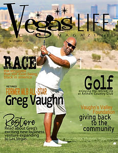 MLB All Star Greg Vaughn Vegas LIFE maga