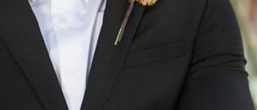 BROWN CACTUS BOUTONNIERE