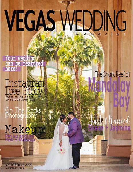 vegas WEDDING magazine Jasmine and Shaan