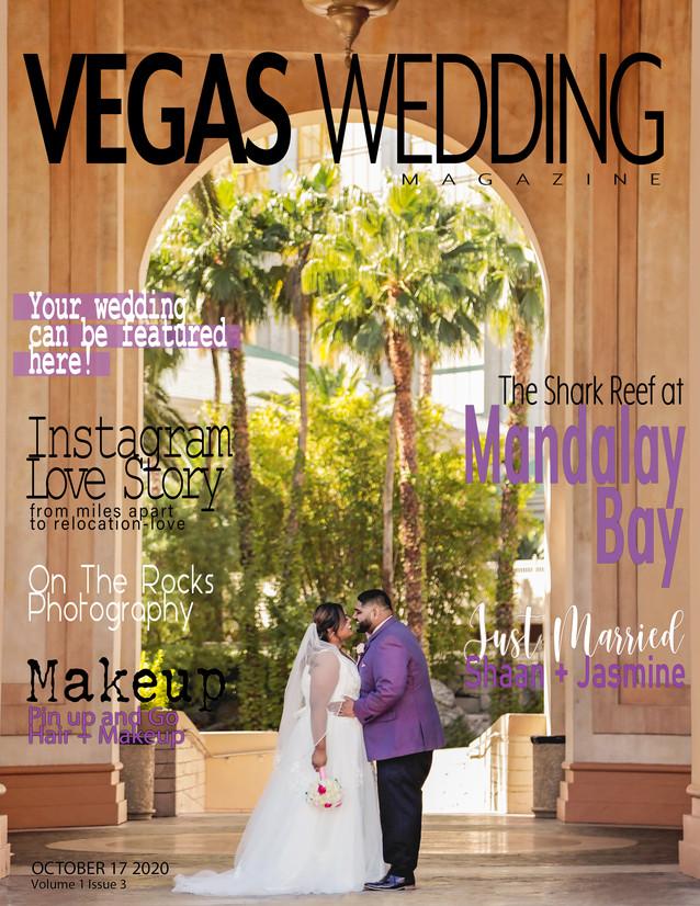 Vegas Wedding Magazine Shaan + Jasmine