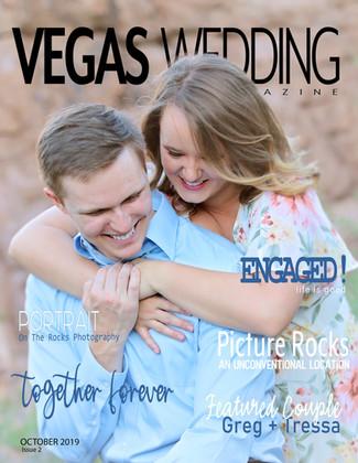 Vegas Wedding Magazine Greg and Tressa Engaged