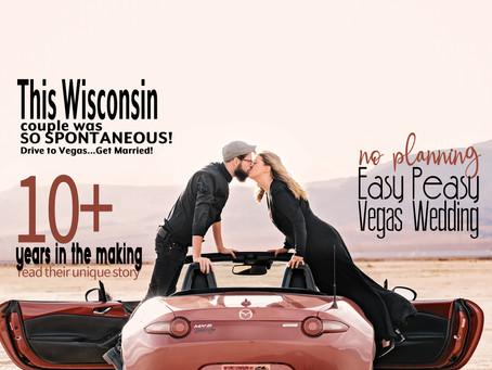 Tomorrow Sounds Like a Good Day to get Married - Erika + Baron