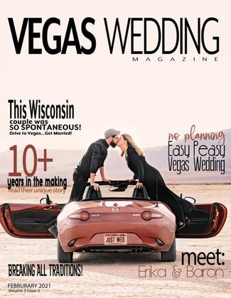 Vegas Wedding Magazine - Erika + Baron
