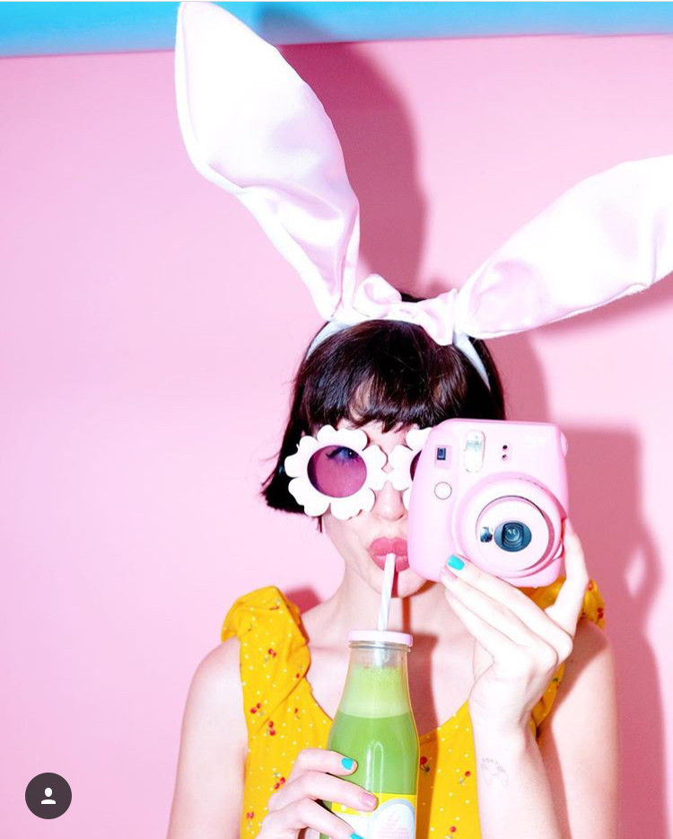 Instagram @afashionnerd; easter bunny fashion