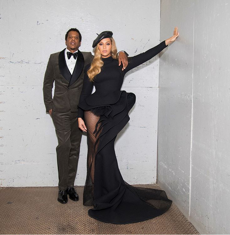 Queen Beyonce and Jay-Z