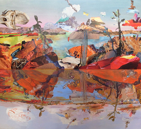 Melissa Robertson art, Carmichael Canadian Landscape Exhibition, award winning art, Kevin J. Batchelor Emerging Artist Award, John Hartman