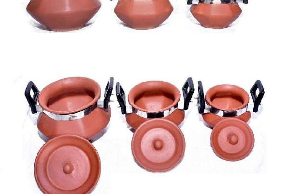 Pahal handi set with handle