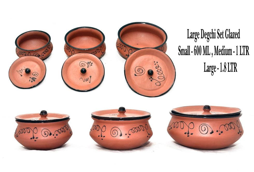 Large Degchi Set without Handle