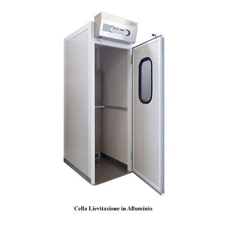Articoli_Cella Lievitazione in Alluminio