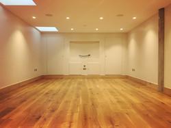 Clear Hardwax Oiled Floor