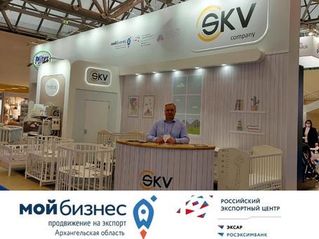 Производитель детской мебели из Архангельска успешно презентовал свою продукцию на выставке