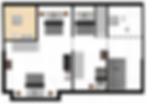 Tweede verdieping vakantiewoning