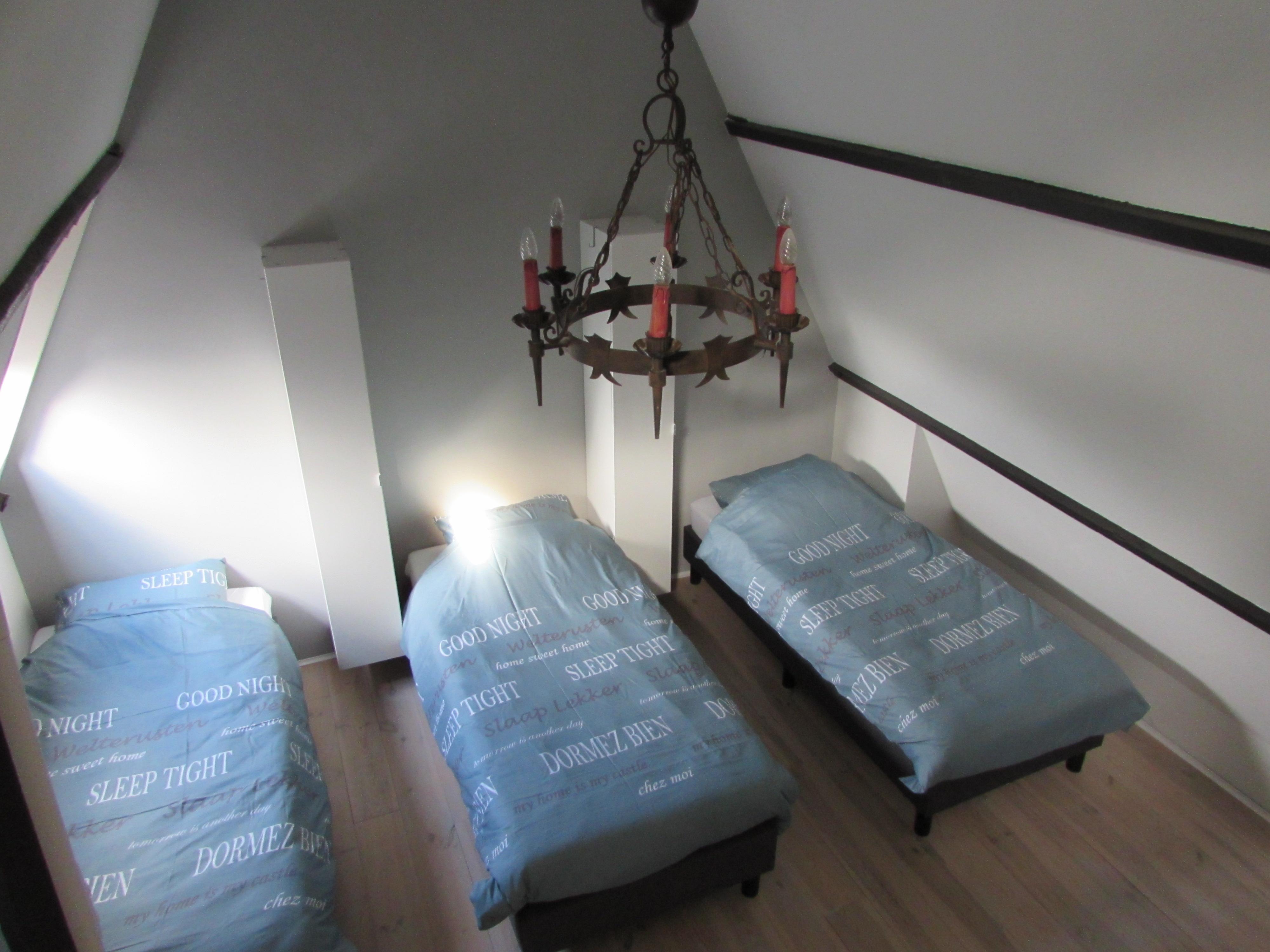Slaapplaats op 2e verdieping