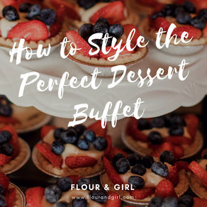 How to Style the Perfect Dessert Table