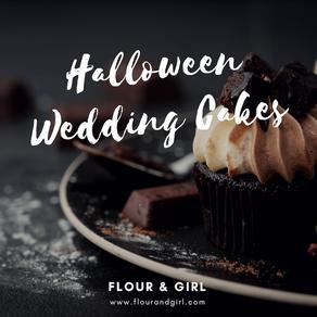 Beautiful Halloween Wedding Cakes