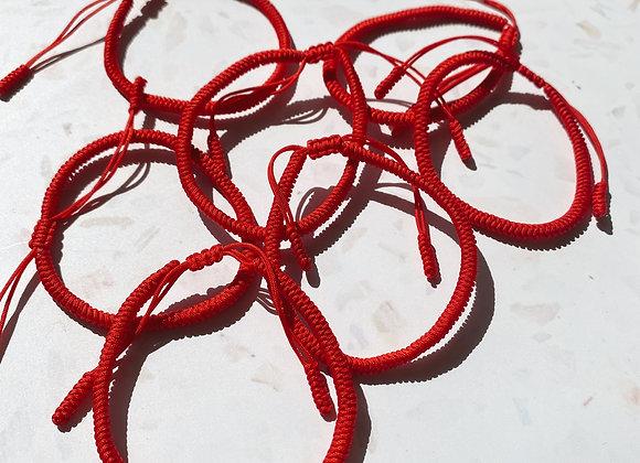 Tibetan Buddhist Handmade Lucky Knot Bracelet