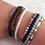 Thumbnail: Howlite Crystal Mini Gemstone Bracelet