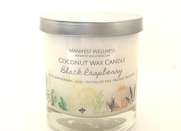 Black Raspberry Coconut Wax Candle