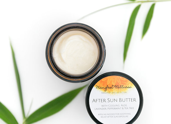After Sun Butter with Aloe, Peppermint, Lavender and Tea Tree