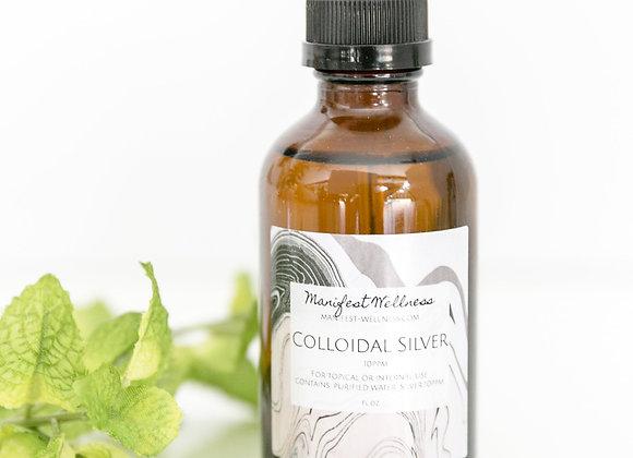 Colloidal Silver 4 oz. Dropper