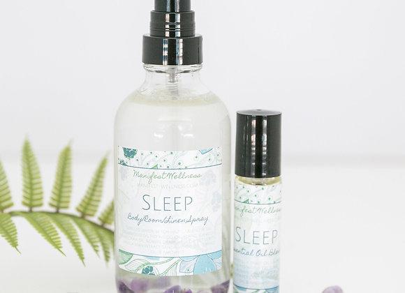 Sleep Aromatherapy Essential Oil Blend with Body / Linen Spray